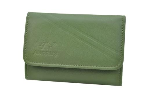 3559cb63decd5 Portfel damski skórzany Andrus 112-1 - 112-1 S zielony - DAMSKIE ...