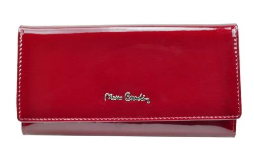 421791df83a6d Portfel damski skórzany Pierre Cardin 100 - 05 LINE 100 red ...