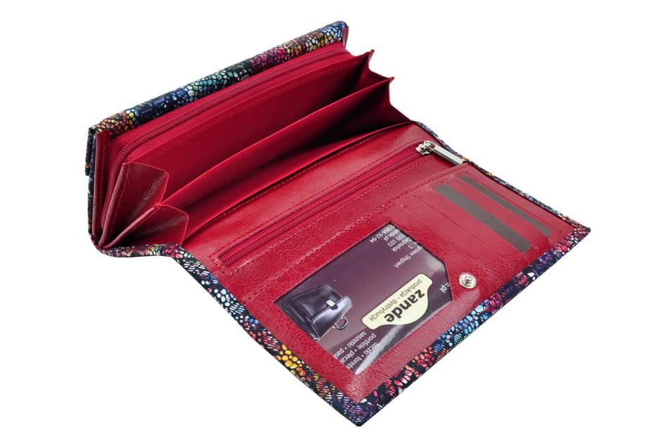23fc99e46640d Portfel damski skórzany Baju Baj 035 - 035 60 99 czerwony - DAMSKIE ...